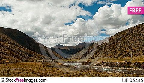 Free Scenery In Tibet Royalty Free Stock Photo - 14105445