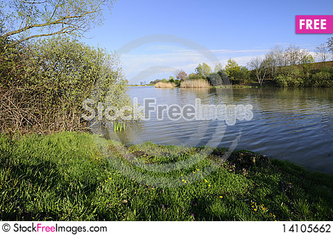 Free Lake In The Spring Stock Photography - 14105662