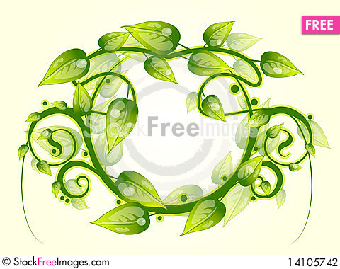 Free Floral Frame Stock Photography - 14105742