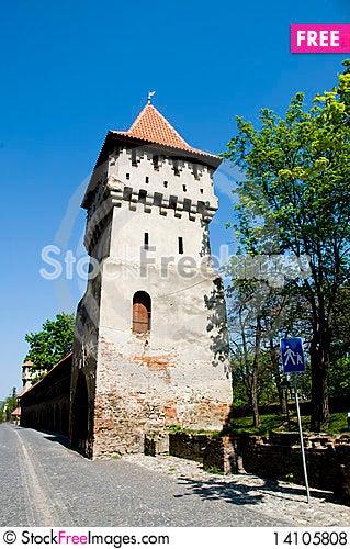 Free Old Sibiu Royalty Free Stock Photos - 14105808
