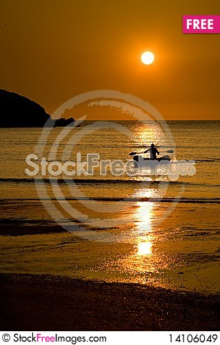 Free Sunset Royalty Free Stock Images - 14106049