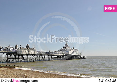 Free Eastbourne Pier, Sussex Royalty Free Stock Image - 14106146