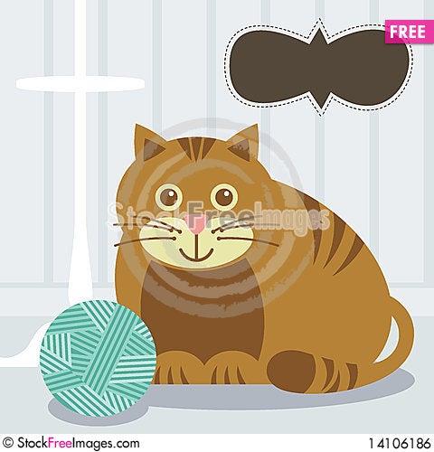 Free Cat Royalty Free Stock Image - 14106186