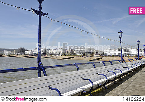 Free On Eastbourne Pier, Sussex Stock Images - 14106254