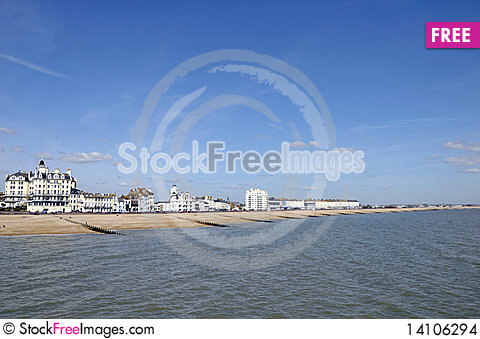 Free Sussex Coast At Eastbourne Stock Images - 14106294