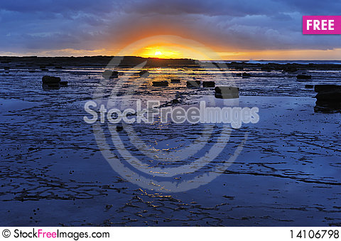 Free The Sunrise In Long Reef Royalty Free Stock Photos - 14106798