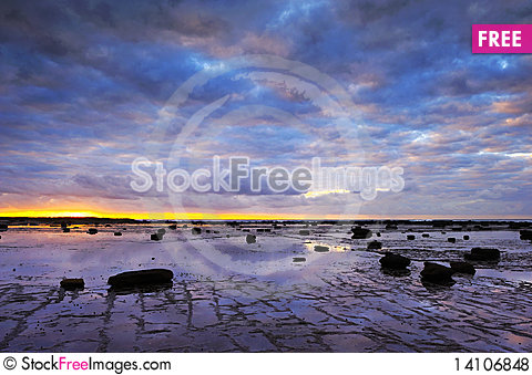 Free The Sunrise In Long Reef Royalty Free Stock Photos - 14106848