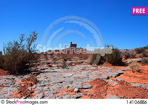 Free Valley Of The Gods Royalty Free Stock Image - 14106886