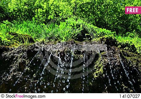 Free Something Like Waterfall Royalty Free Stock Photography - 14107027