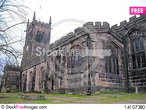 Free Church Stock Photo - 14107380
