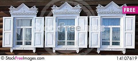 Free Three Windows Royalty Free Stock Images - 14107619