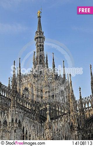 Free Particular Of Duomo, Milan Stock Photos - 14108113
