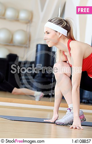 Free Fitness Club Royalty Free Stock Photography - 14108857
