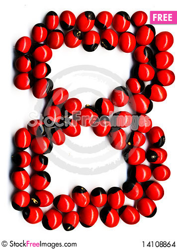 Free Red Number Eight Stock Images - 14108864