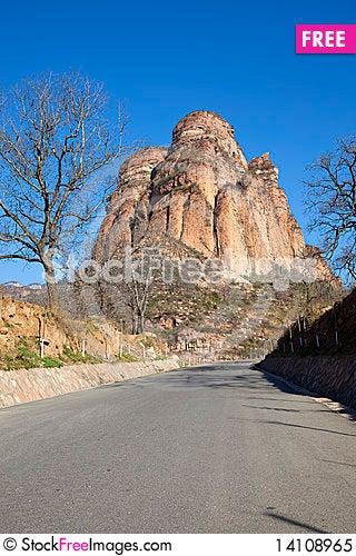Free Road To Mountain Royalty Free Stock Photo - 14108965