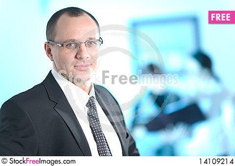 Free Men In Glasses Stock Images - 14109214