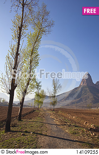 Free Mountains And Fields Royalty Free Stock Photo - 14109255
