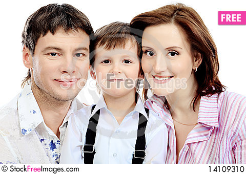 Free Portrait Of A Family Stock Photo - 14109310