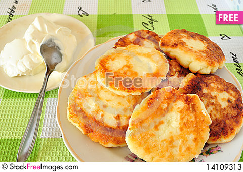 Free Fried Cheese Fritters Stock Photos - 14109313