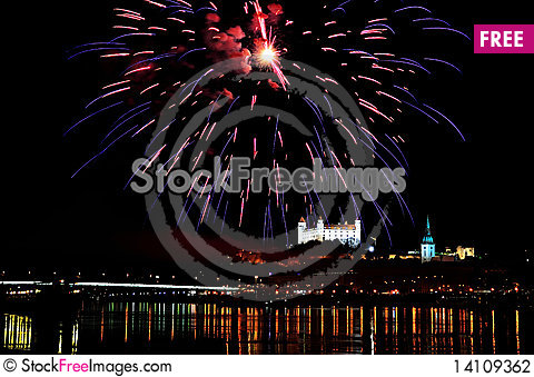 Free Fireworks Stock Photography - 14109362