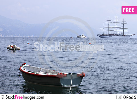 Free Different Boats Royalty Free Stock Photo - 14109665