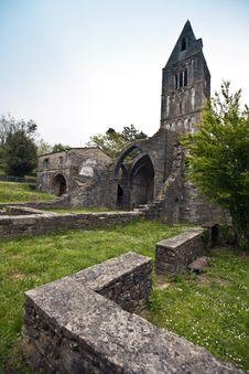 Free Monastery Ruins Stock Photo - 14100650