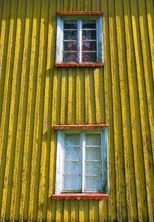 Grunge Windows Royalty Free Stock Photo
