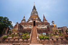 Free Wat Yai Chai Mongkol Stock Photo - 14101540