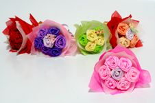 Origami Of Flowers Royalty Free Stock Photos
