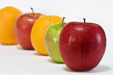 Free Apples And Oranges Stock Photography - 14101572