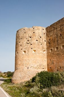 Koulos Fortress Royalty Free Stock Photography