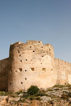 Koulos Fortress Royalty Free Stock Photos