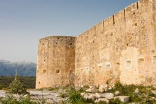 Koulos Fortress Stock Image