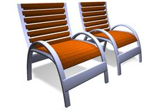 Free Deck Chairs Stock Photos - 14102253