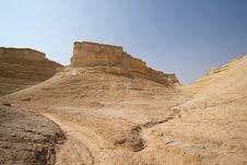The Perazim Canyon. Stock Photography