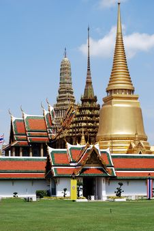 Free Wat Phra Kaeo Royalty Free Stock Images - 14103089