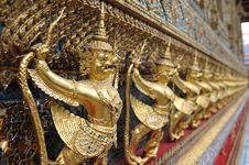 Statue Of Garuda Stock Photography