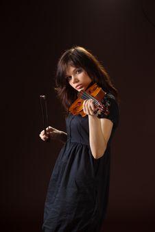Free Violinist Royalty Free Stock Photos - 14103588