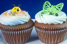 Kiddy Cupcake Royalty Free Stock Photos