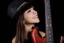 Free Female Country Singer Stock Photography - 14104562