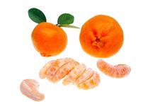 Mandarin Or Tangerine Stock Image