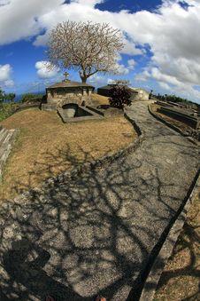 St. Johns Church Cemetery Barbados Stock Photos