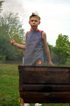 Free Little Cook Royalty Free Stock Photos - 14108678