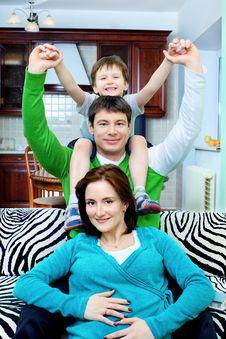 Free Joyful Family Stock Photography - 14109022