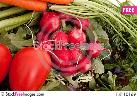 Free Fresh Vegetables Royalty Free Stock Images - 14110169