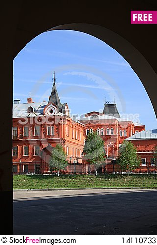 Free Building Of Construction Of 19 Centuries, Bank Stock Photos - 14110733