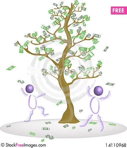Free Riches. Royalty Free Stock Photos - 14110968