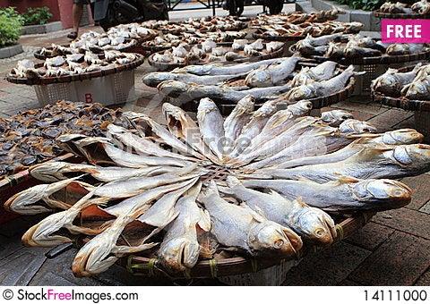 Free Salted Fish Stock Photo - 14111000