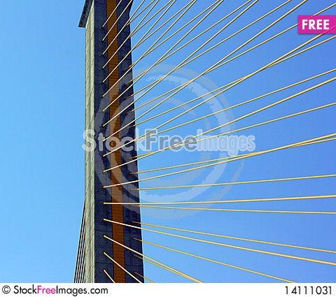 Free Cable-stayed Bridge Stock Image - 14111031