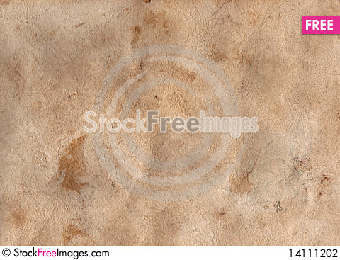 Free Texture Of Old Paper Natural Fibers Stock Photography - 14111202